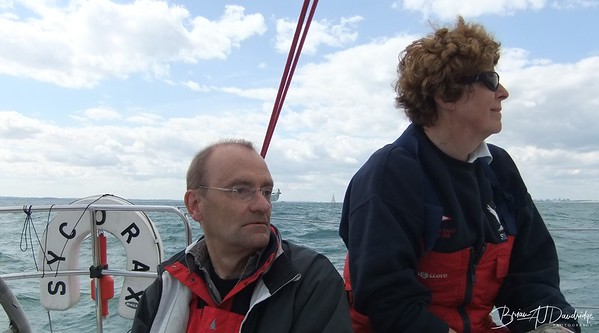 The Bramidge Trophy Race as seen from on board SYCORAX