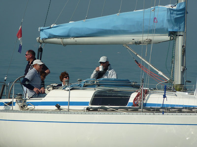 SYCORAX, pre-start of race on 17th April, 2011