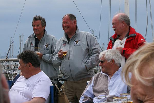 Pat Morrell, Brian Dandridge & Peter Wallace (standing); John Hampton & Watson Leslie sitting