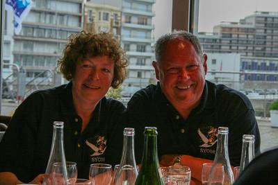 Geraldine and Brian Dandridge - CCRC Commadorable and Commodore 2008/9