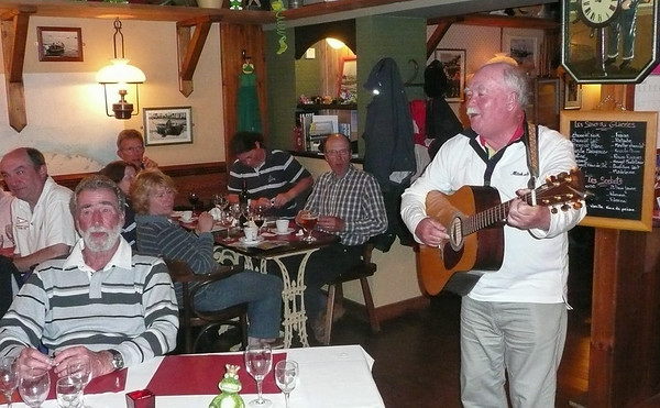 A typical CCRC social evening - with entertainment