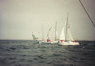 Racing, 1988 style.