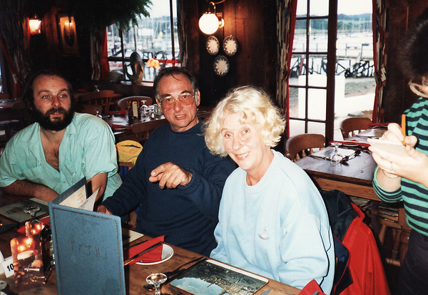 Tim, Dennis and Judith (Darling!) Coates