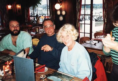 Tim, Dennis and Judith (Darling!) Coates