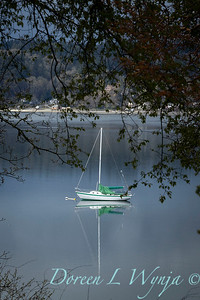 Sailboat anchored out in bay_1165