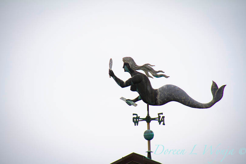 Mermaid weathervane_025