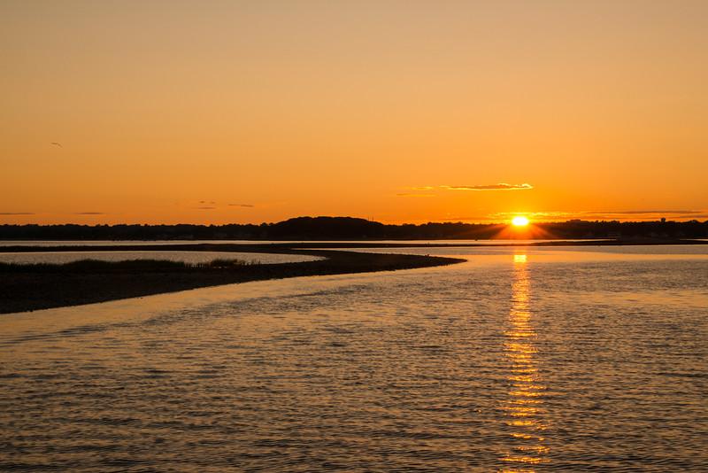 Sunset from Cockenoe Island
