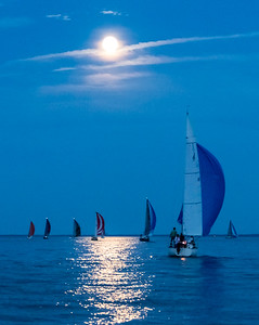 Racing Under a Full Moon