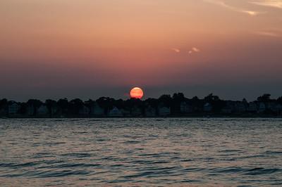 Sunset over Bell Island