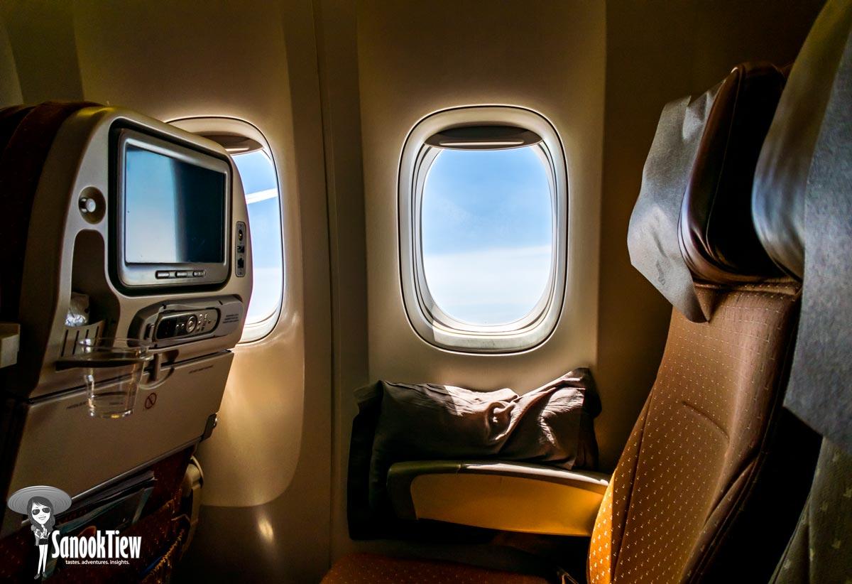 บนเครื่องบิน