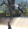 We've all played P.I.G. with a basketball, but how about with a snowboard, or a motorcycle, or a BMX bike? Here I am at Woodward West in the hills near Tehachapi, California shooting BMX P.I.G. in Hi-Def for Rush HD.<br /> <br /> Photo credit: Wink, Inc.