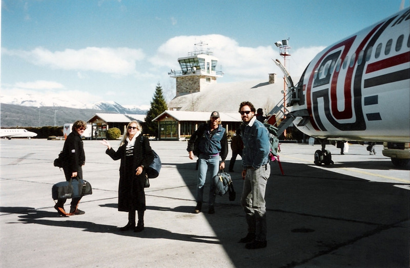 Just another day at the airport… high in the Argentine Andes.<br /> <br /> Photo credit: David Stanfield