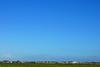 De lucht is zo blauw
