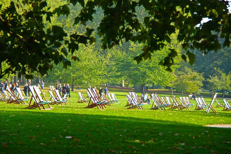 En espera del sol / Londres