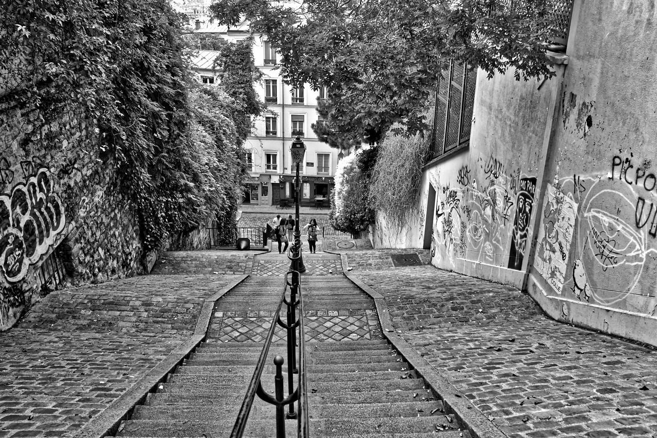 Escalera Montmartre