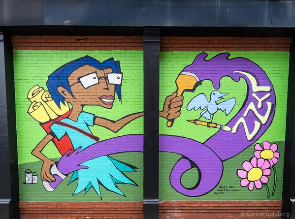 mural by Bruce Orr