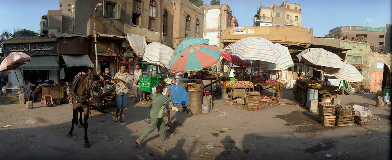 (Oct 2003 Cairo, Egypt) -- An open air market in old Cairo, a sight many american tourist never see.<br /> Photo: Michael Rieger