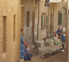 (Oct. 8, 2003 Ashmoneen, Egypt) --  On the streets of Ashmoneen, on of the villages that Hands Along the Nile supports. <br /> Photo: Michael Rieger<br /> 720-331-6402