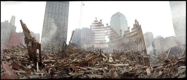 DR-1391-NY<br /> 9-19-2001<br /> (New York City, NY)<br /> The center of ground zero.