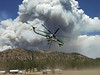 6-11-2002  ( Hayman Fire, Colorado)<br /> A type one heavy  air tanker  takes off from air command to fight the Hayman fire southwest  of  Denver.<br /> <br /> <br /> Photo: Michael Rieger/FEMA