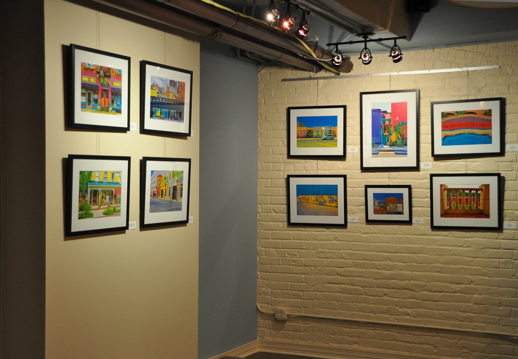 On Display at Prana Café through January 24, 2013, Evanston IL.