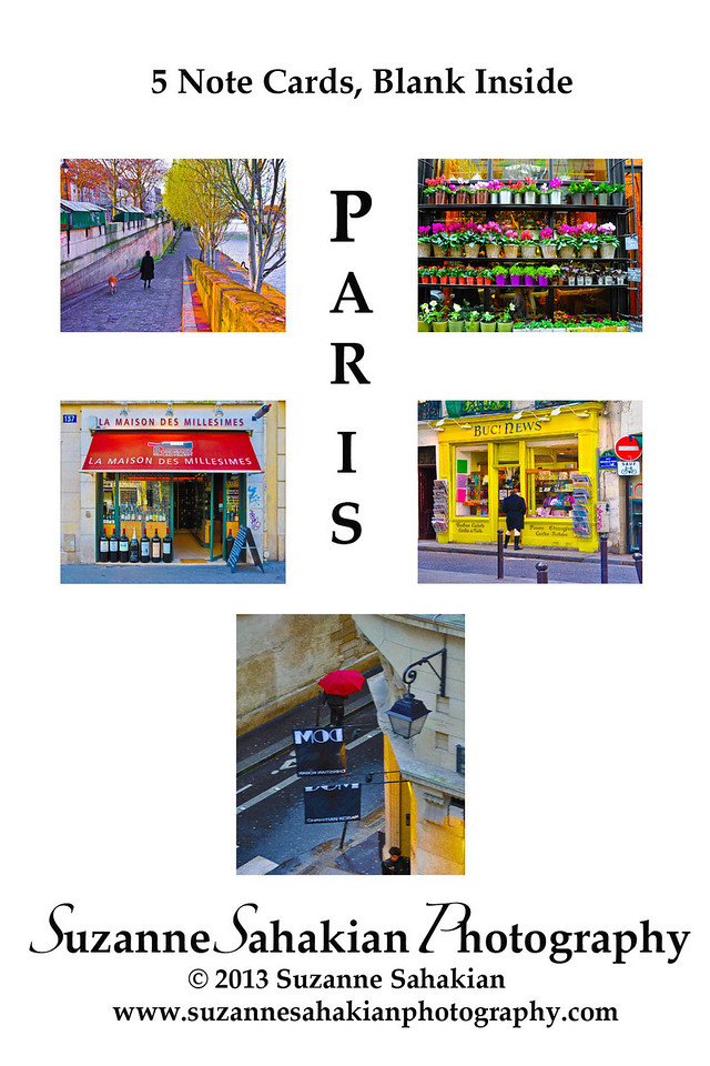 New - Paris Note Card Packets for sale at Next Door in Evanston, IL or directly from me!