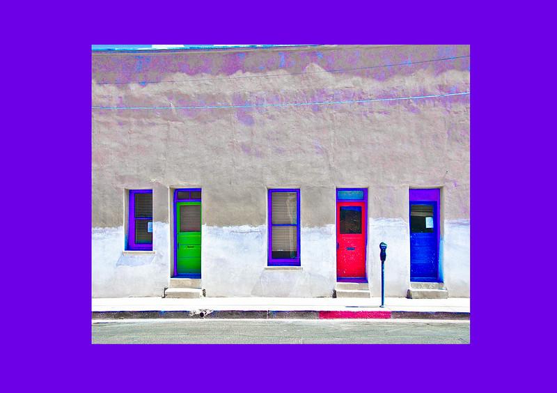 """El Presidio Doors,"" Tucson, AZ, 2013."
