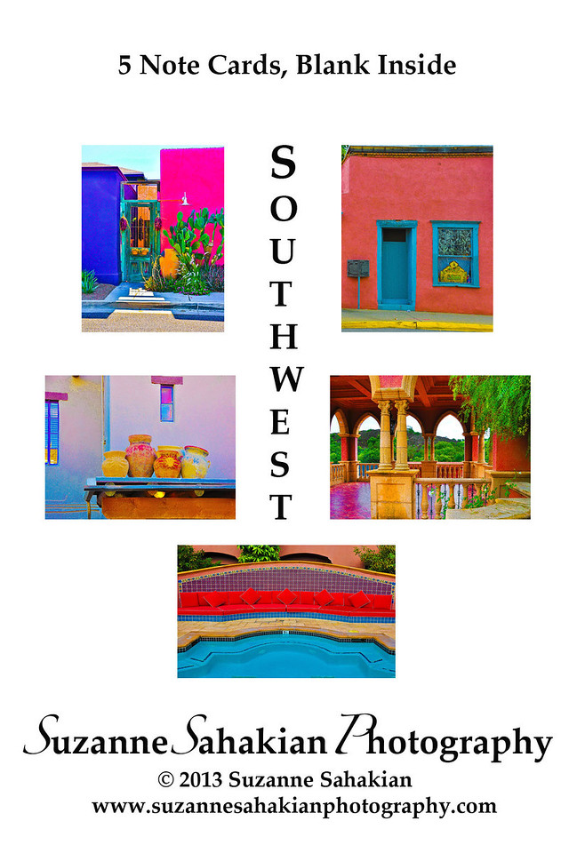 New - Southwest (Tucson and San Diego) Note Card Packets for sale at Next Door in Evanston, IL or directly from me!