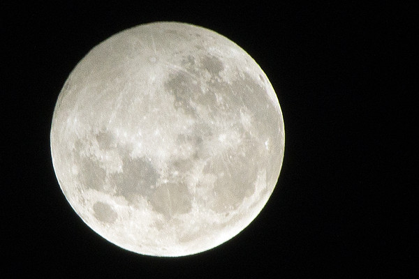 Penumbral Lunar Eclipse (3 Photographs)