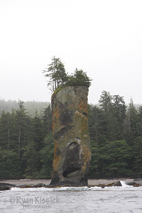 Pillar Rock on the northeast coast of Graham Island