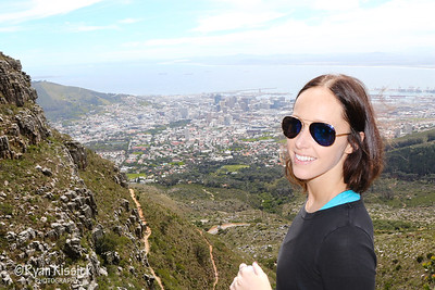 Cape Town as seen from Table Mountain