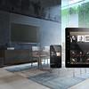 Modern Design White Dining Room Interior Architecture. 3d rendering
