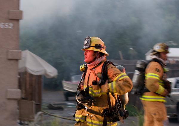 Lakeside House Fire July 21 2010