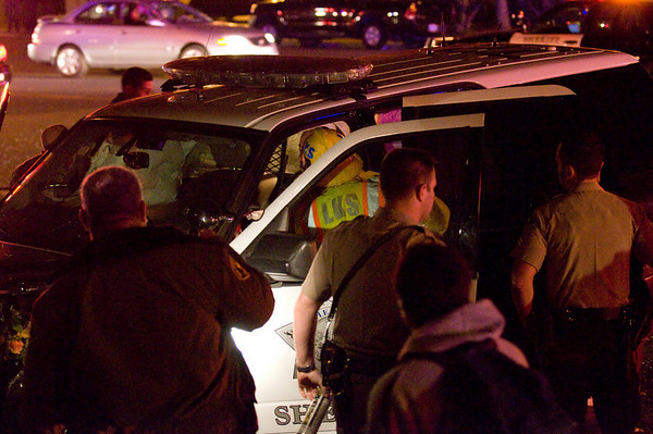 Lakeside - San Diego Sheriff's Deputy Involved in Accident