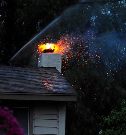 Pepper Dr. Chimney Fire - April 9 2009