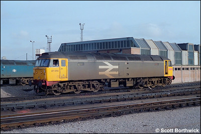 47374 stands on Bristol Bath Road TMD (BR) on 03/05/1986.