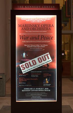 Mariinsky Theater: War and Peace Opera 2010