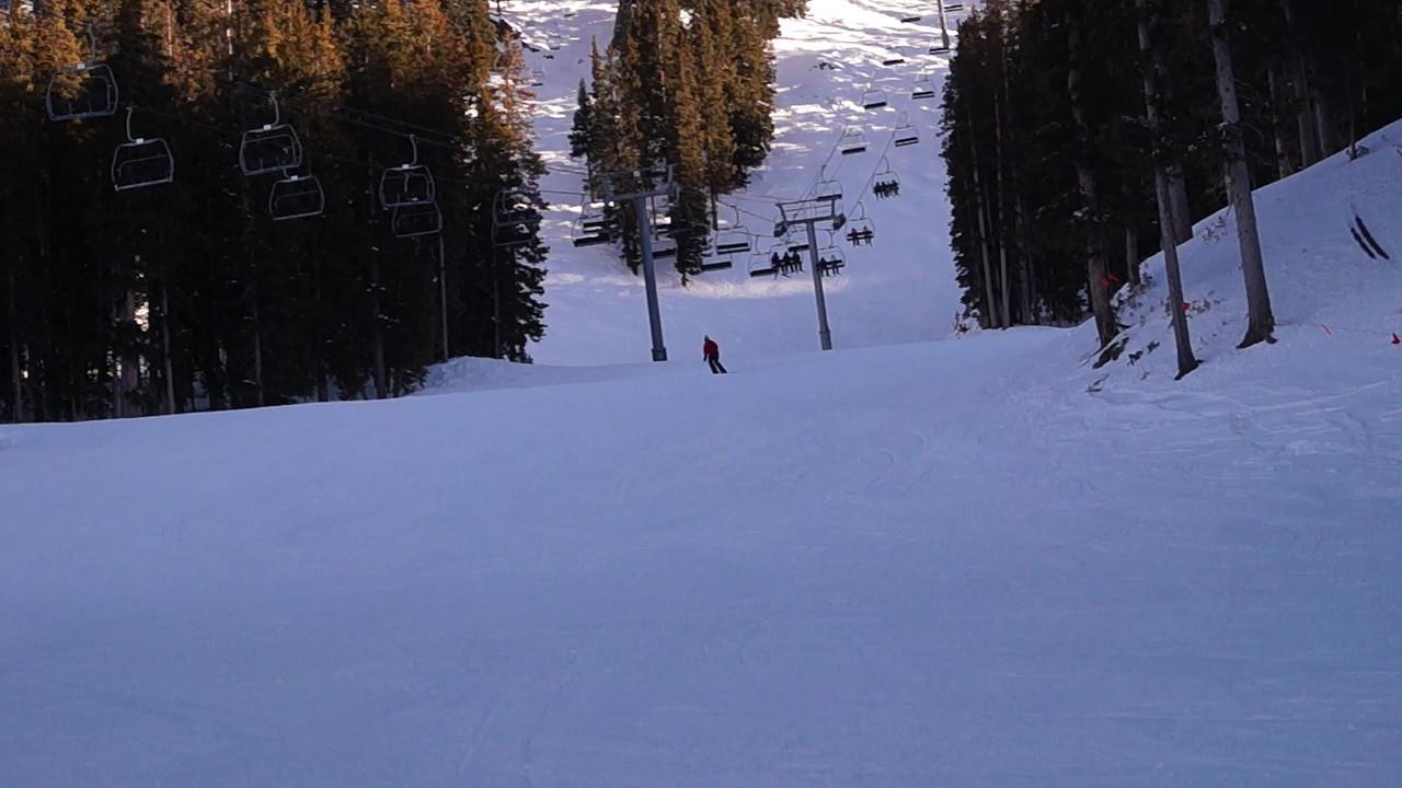 Chuck Roberts ski run at Taos 2013 - Gary N. Miller - Sisters Country Photography