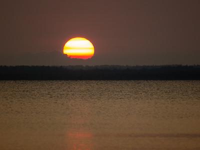 Sunrise, Sunset, Lynsey, BB&L visit-August 2012