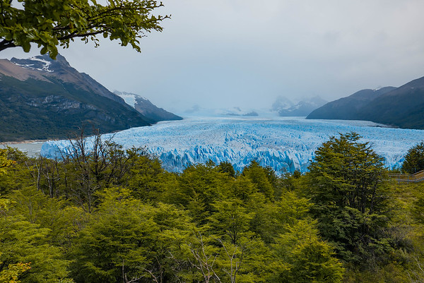 The rest of the photos were from a catwalk above the glacier