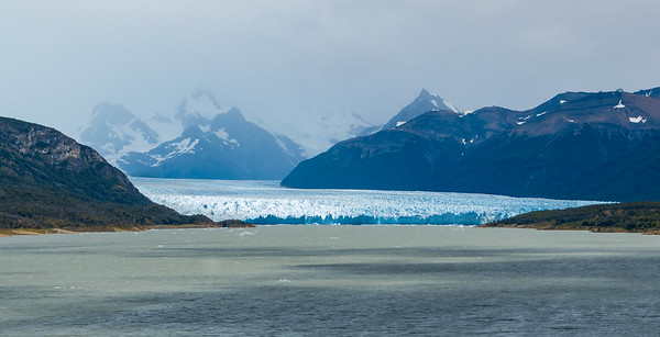 First view of Perito Moreno glacier!