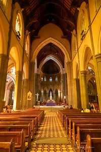 Inside St. Patrick's Cathedral