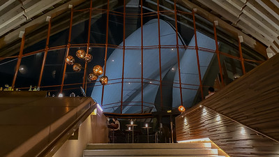 Inside the Sydney Opera House Bennelong Restaurant