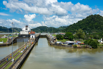 Entrance to Pedro Miguel Locks