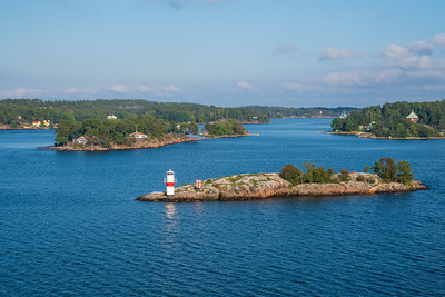 A few more of the thousands of islands around Stockholm
