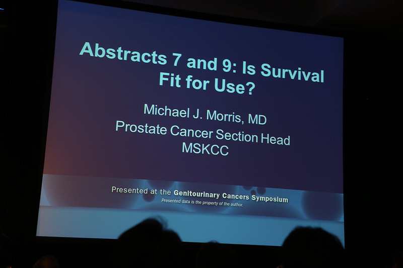 San Francisco, CA -GU Cancers Symposium 2014: Michael J.  Morris, MD discussant on abstract #7 & #9 during the Oral Abstract Session A: Prostate Cancer at the 2014 Genitourinary Cancers Symposium here today, Thursday January 30, 2014. Over 3,100 physicians, researchers, patient advocates and healthcare professionals from over 50 countries attended the meeting which features the latest research on genitourinary cancer treatment and prevention. Photo by © ASCO/Todd Buchanan 2014 Technical Questions: todd@medmeetingimages.com