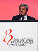 San Antonio, TX - SABCS 2016 San Antonio Breast Cancer Symposium - AACR's Carlos Arteaga, MD gives opening remarks during the opening session here today, Wednesday December 7, 2016. during the San Antonio Breast Cancer Symposium being held at the Henry B. Gonzalez Convention Center in San Antonio, TX. Over 7,500 physicians, researchers, patient advocates and healthcare professionals from over 90 countries attended the meeting which features the latest research on breast cancer treatment and prevention. Photo by © MedMeetingImages/Todd Buchanan 2016  Technical Questions: todd@medmeetingimages.com