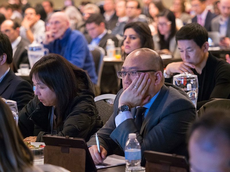 Attendees during Research to Practice Session