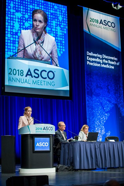 Selma Ugurel, MD, discusses Abstract 9505  during Melanoma/Skin Cancers Oral Abstract Session