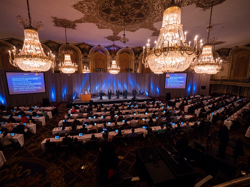 General views of Attendees and speakers during Sessions
